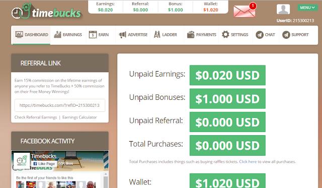 make money online by timebuck.com