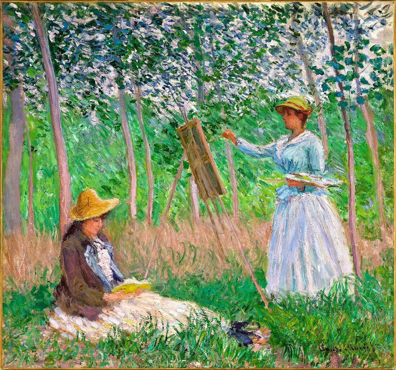 Monet: Reading And Art: Claude Monet