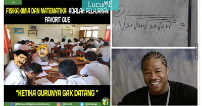 12 Meme Kocak 'Pelajaran Matematika' Ini Nyenangin Otak Banget