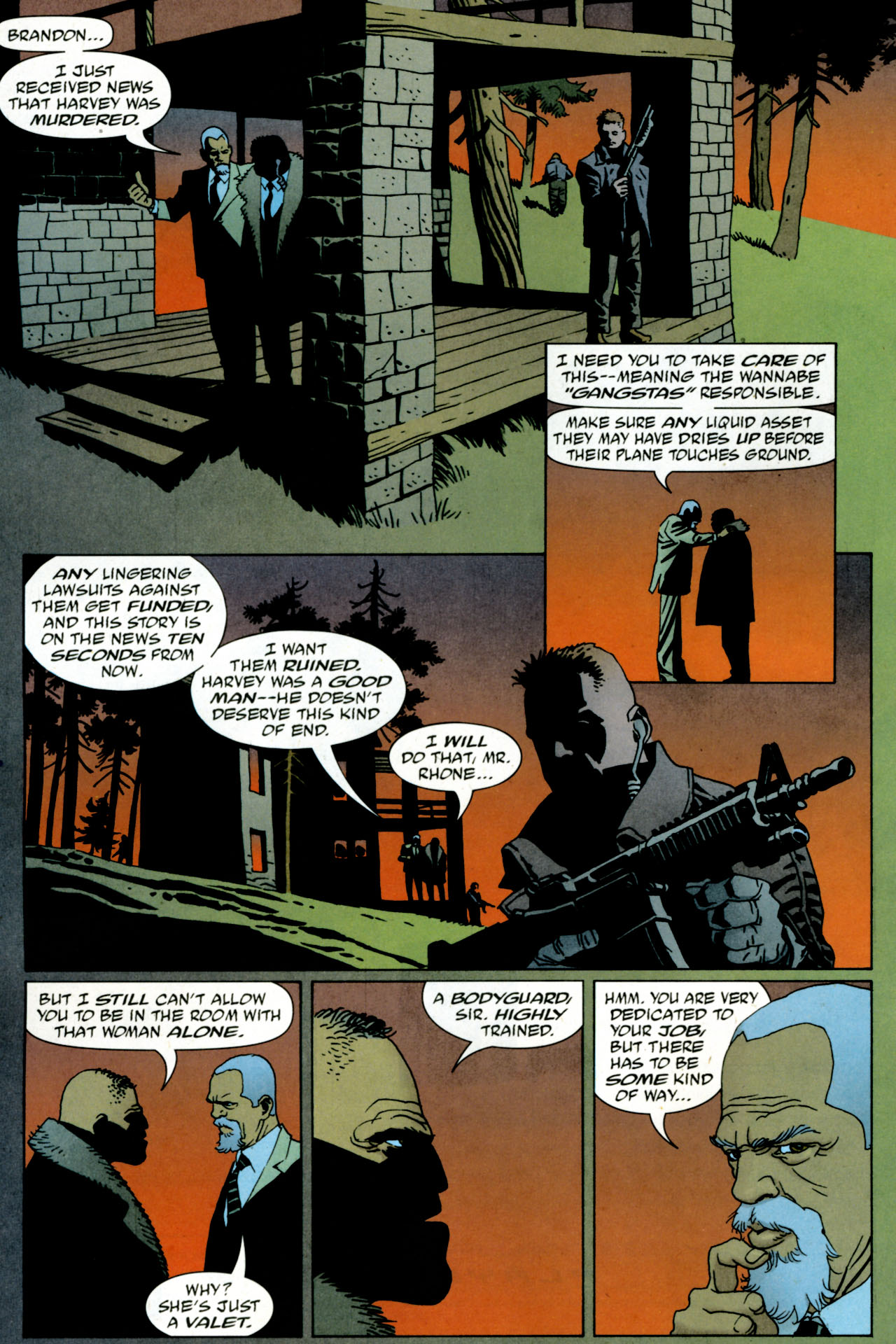 Read online 100 Bullets comic -  Issue #84 - 13