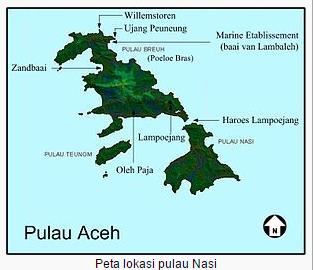 Wisata Aceh; Pesona Keindahan Pulau Nasi Di Aceh Dalam Bingkai Foto