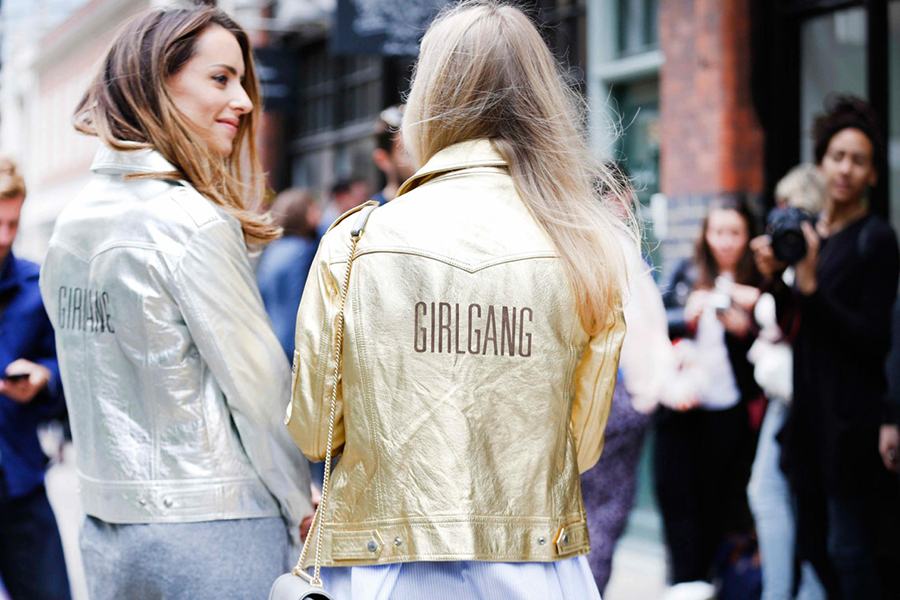 Inspiration | Metallic Effect Jackets