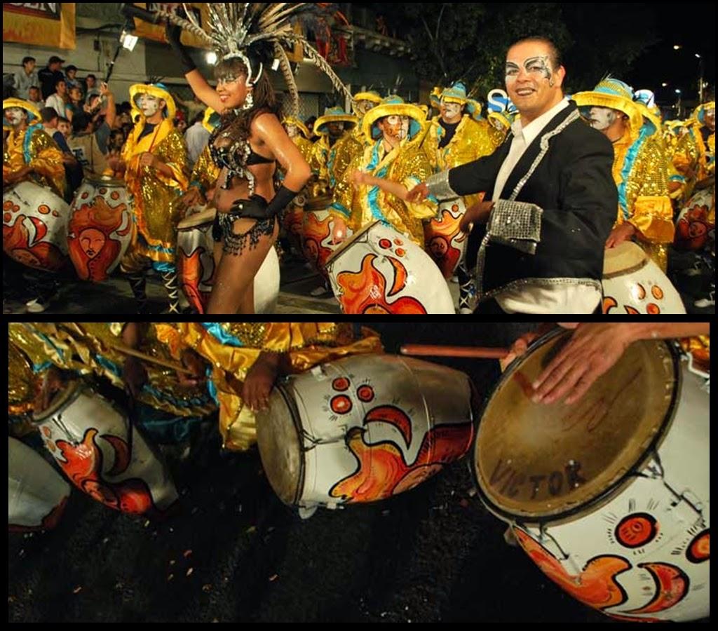 Desfile de Llamadas.Sarabanda. Montevideo. 2011.