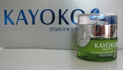 Kem dưỡng ban đêm kayoko - bí quyết làm đẹp từ người Nhật