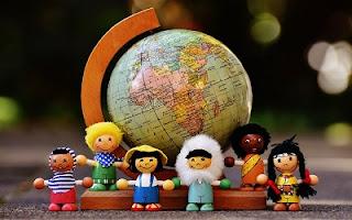 Bambini di diverse nazionalità