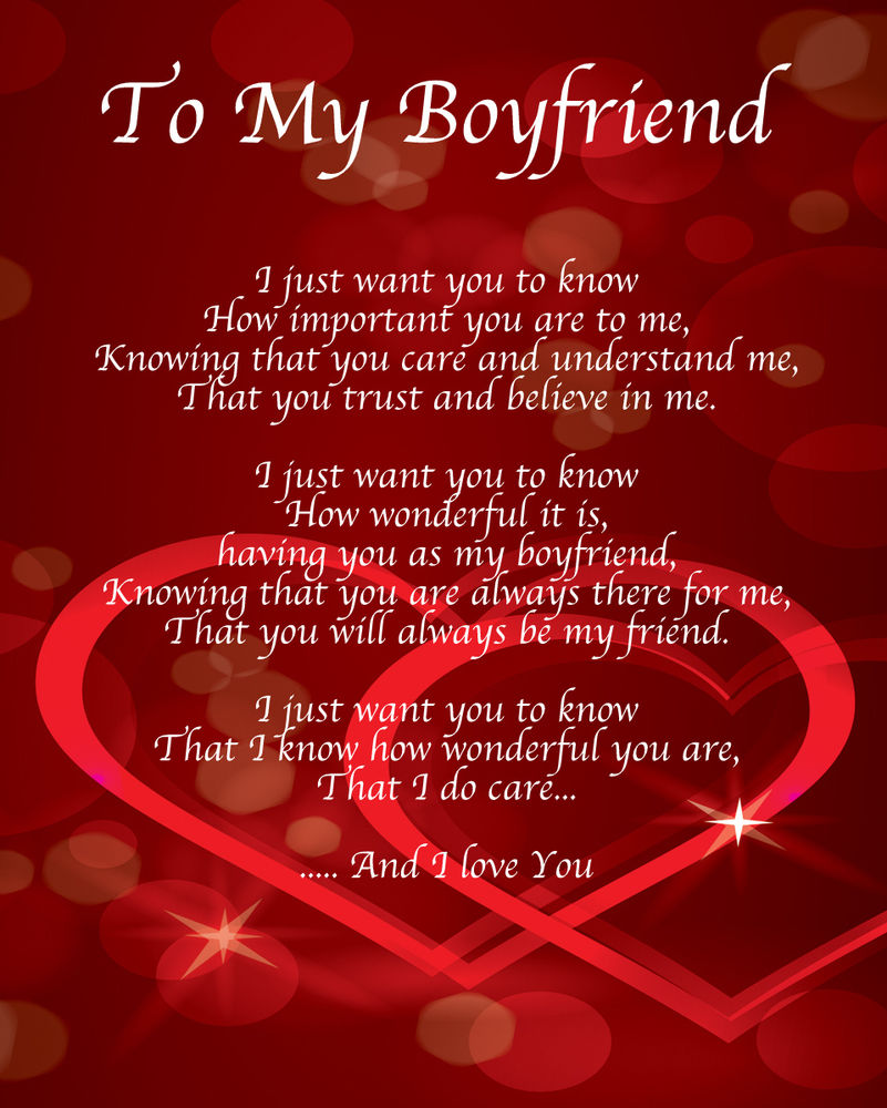 Happy Valentines Day Poems for Boyfriend Gifts - This Blog ...