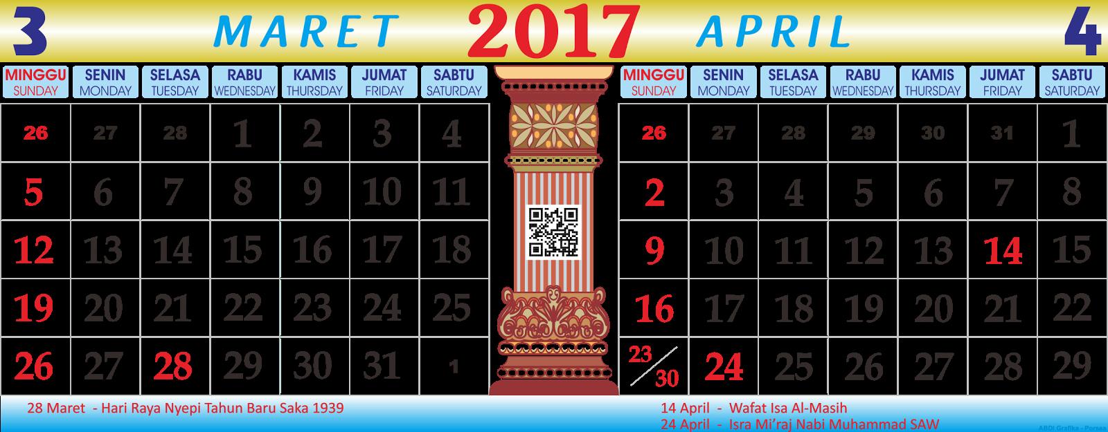 Kalender Bulan April : Vector for free kalender maret april