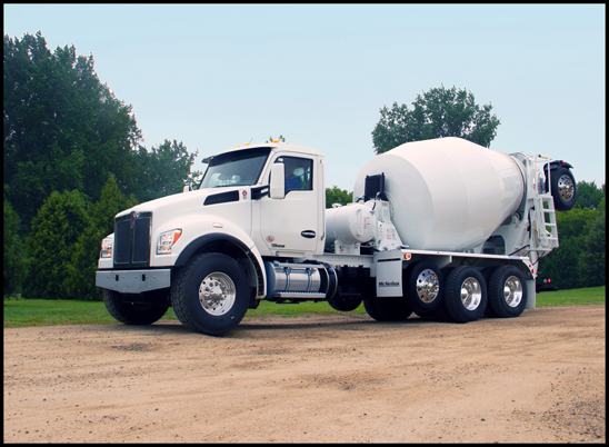 Kenworth T880S Mixer with McNeilus Bridgemaster Package