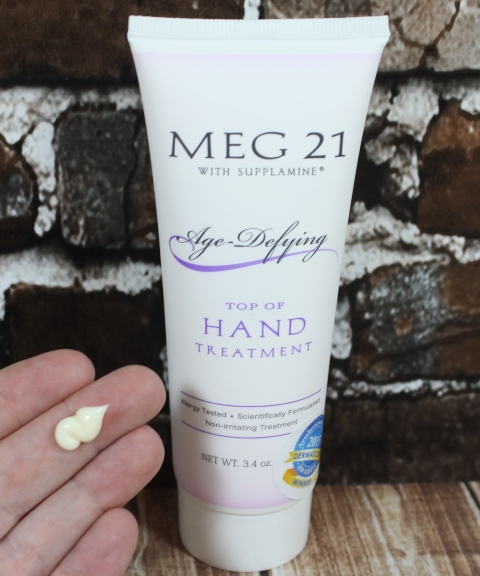 skin care hand treatment