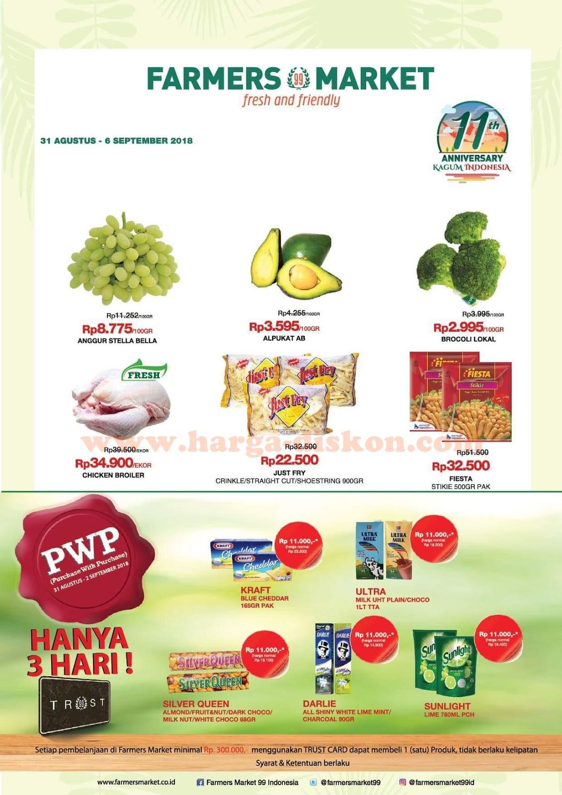 Promo Farmers Market Katalog Jsm Akhir Pekan 31 Agustus 6 September 2018 News And Talking