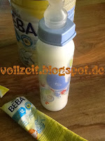 test BEBA MILK BABY 1+ for babies breastfeeding problems important nutrients easy preparation