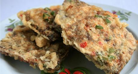 Resep gorengan oncom balutan tepung krispy