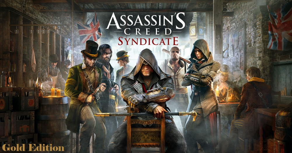 Assassin's Creed Syndicate Gold Edition Poster