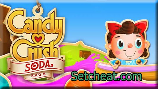 Cheat Candy Crush Soda Saga dengan Xmodgames