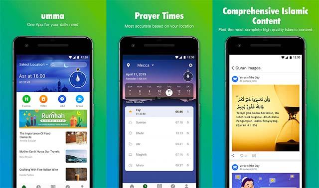 Umma - Quran, Prayer Times, Qibla - Aplikasi Adzan Terbaik Dan Jadwal Sholat Indonesia