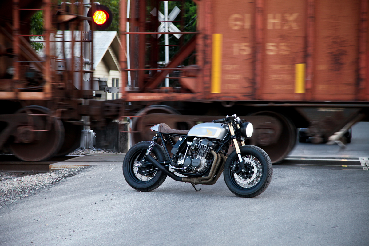 Emotional Achievement Tyson S Honda Cafe Racer Return