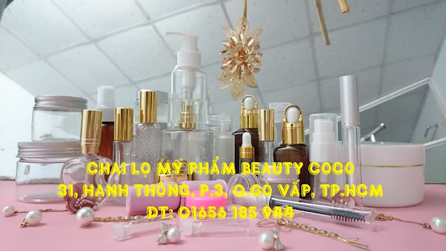 Chai lọ hũ chiết mỹ phẩm giá rẻ beauty coco