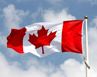Gambar foto bendera kanada