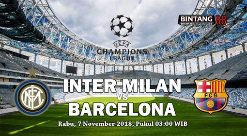 Prediksi Inter Milan vs Barcelona 7 November 2018
