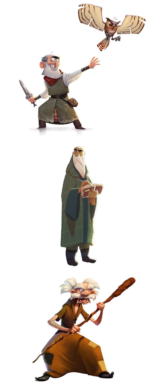 Character Design Masterclass Book : Character design artist interviews