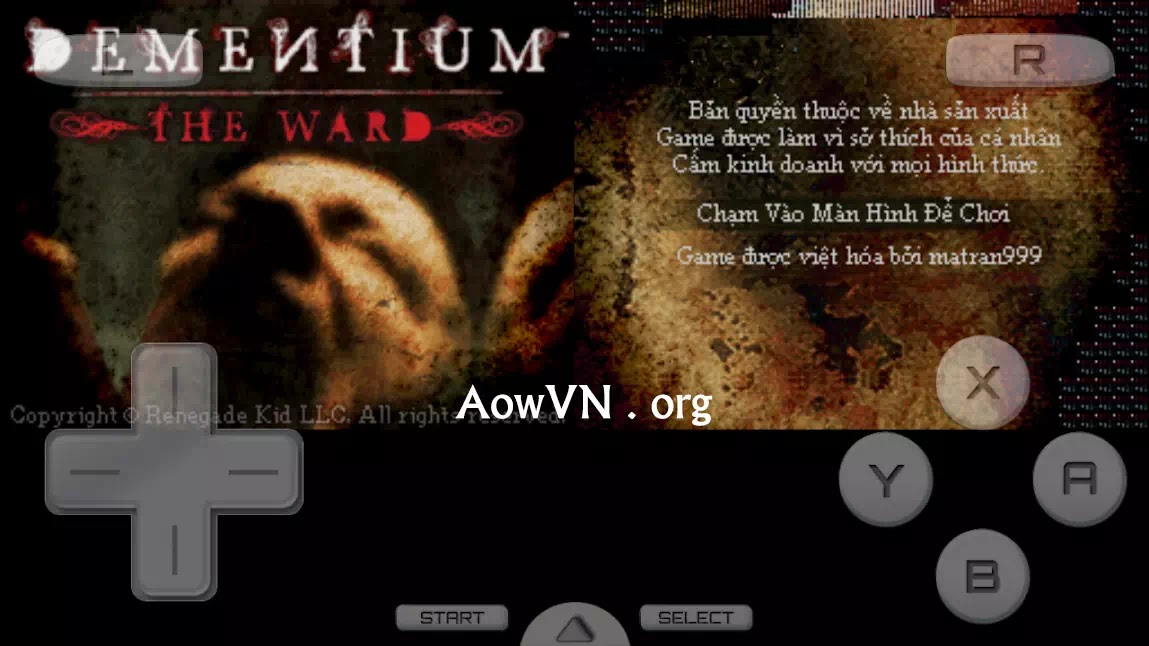 AowVN.org minz%2B%25286%2529 - [ HOT ] Dementium - The Ward & II Việt Hoá | Game NDS cho Android & PC IOS - Kinh dị , giải đố