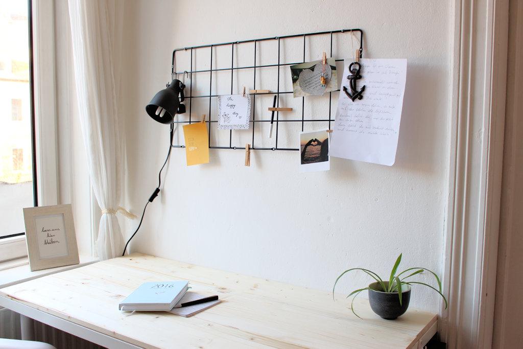 Ikea Dresser Changing Table ~   Schreibtisch Pimpen Vom langweiligen Ikea Tisch zum skandinavischen