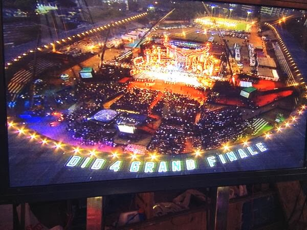 Dance India Dance venue on grand finale night