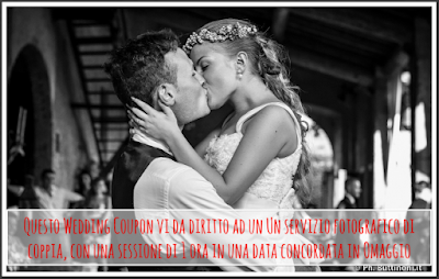 coupon matrimonio foto
