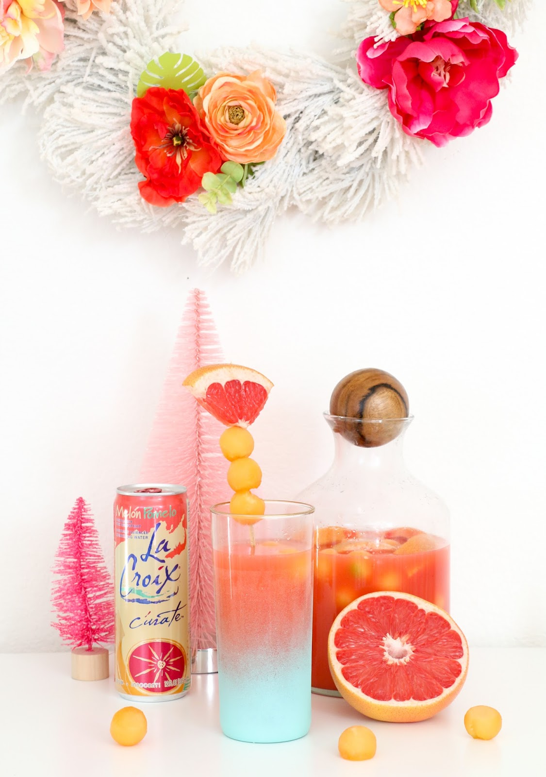 Celebrate It - A Tropical Holiday Party - A Kailo Chic Life