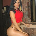 Andrea Rincon, Selena Spice Galeria 30 : Top y Cachetero Rojo, Baby Got Back Foto 75