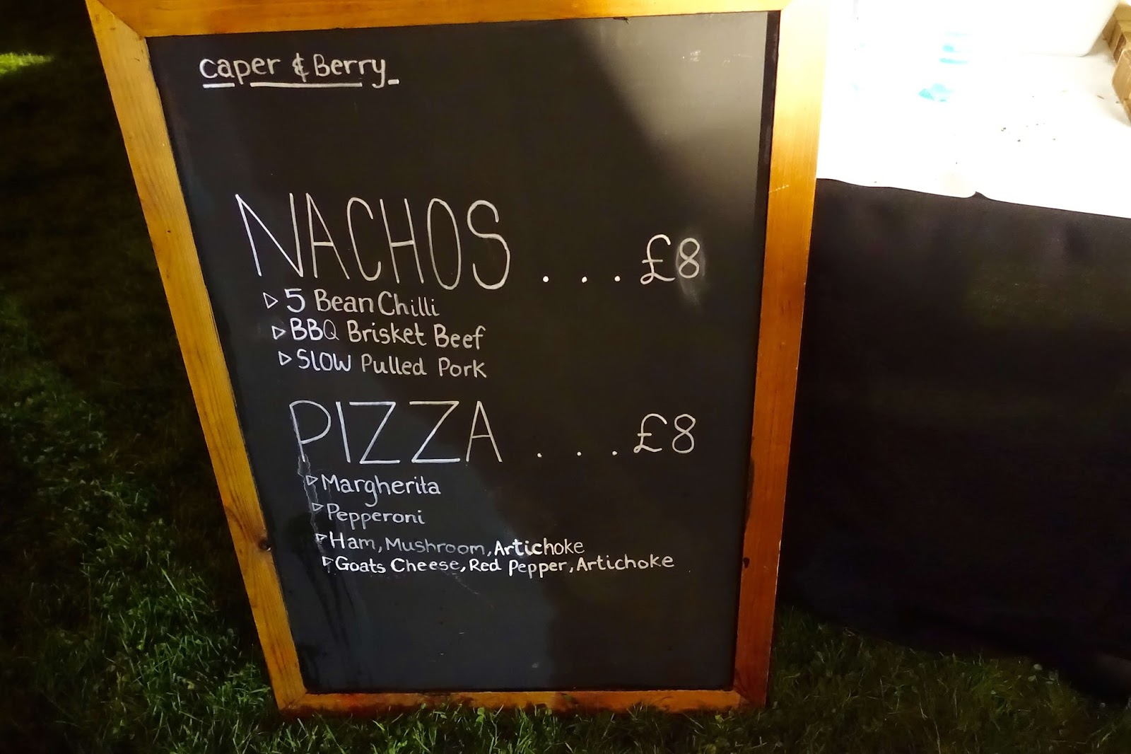nachos or pizza gin festival