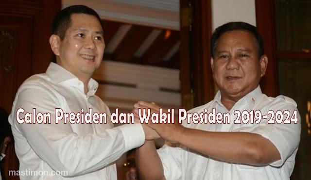 Pasangan Prabowo Di Pilpres  Hari Tanoesoedibjo Atau Anies Baswedan