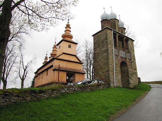 Cerkiew św. Dymitra w Radoszycach z 1868 roku.