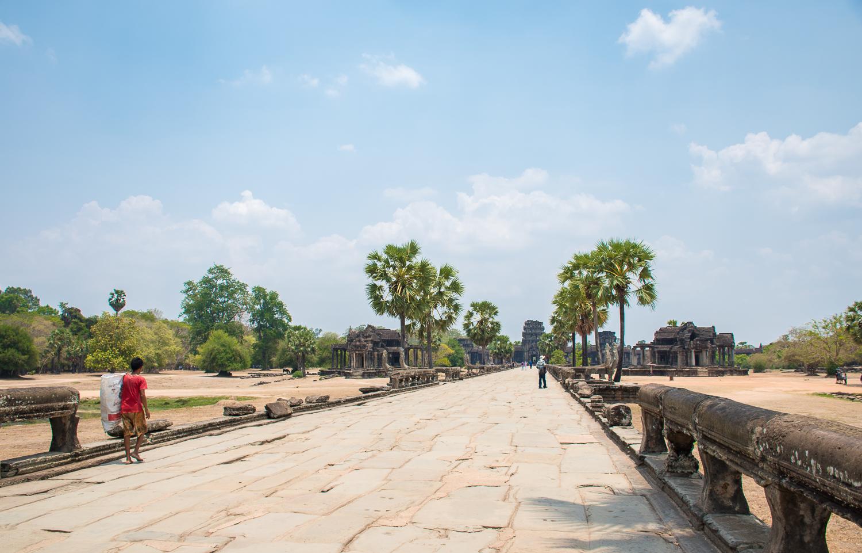 Cambodia angkor wat temple image