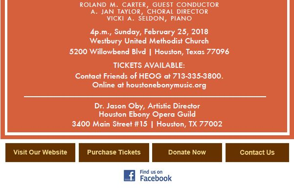 Houston ebony opera guild