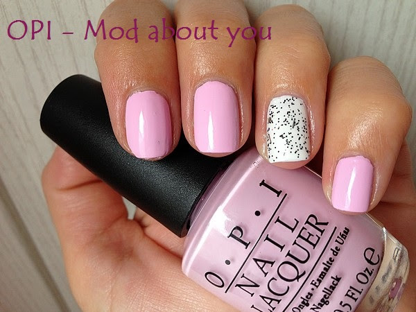 OPI - MOD ABOUT YOU & GLITTER