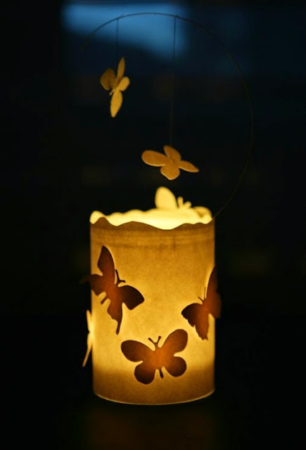 Popolare Come fare lanterne con barattoli di vetro DR41