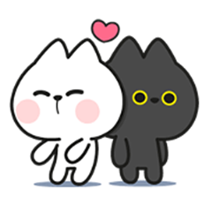 Couple Cat Animated