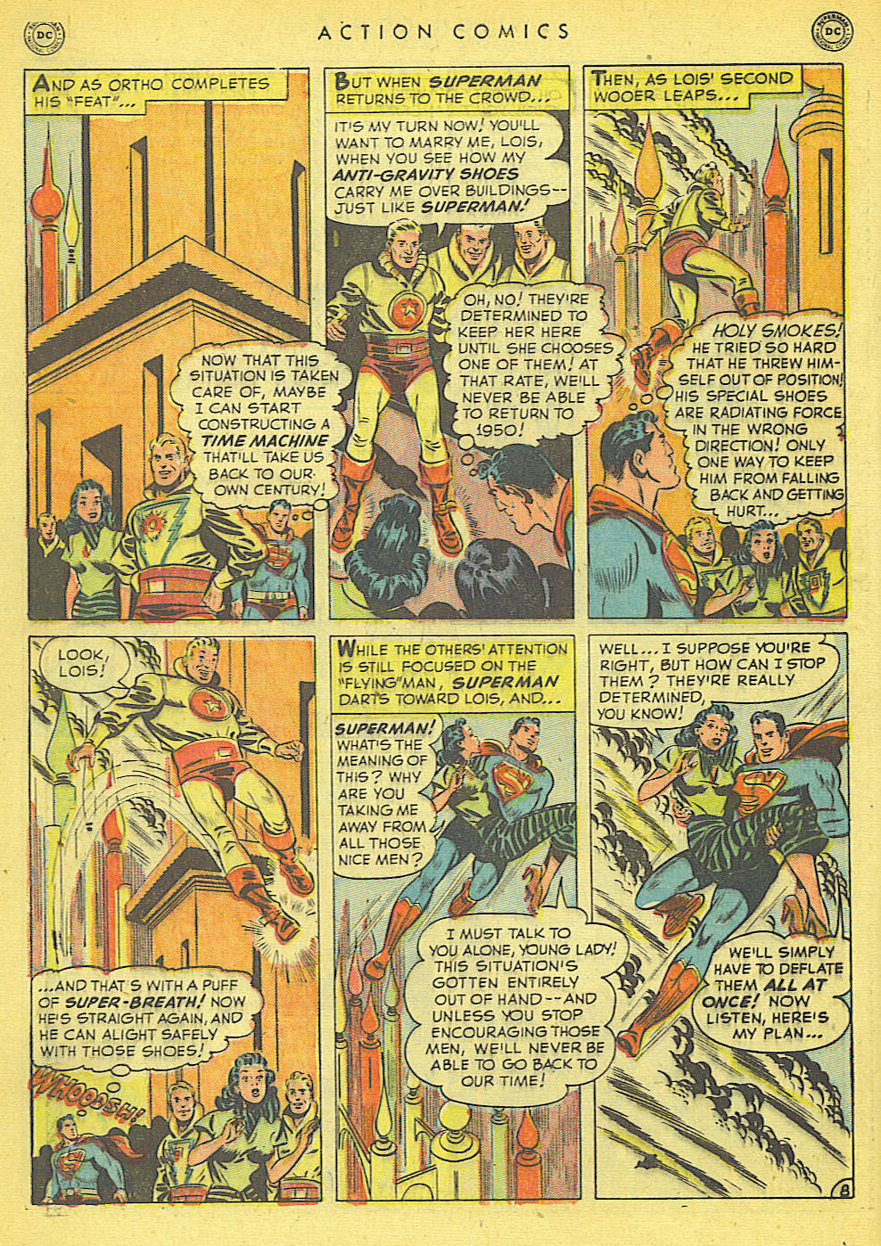 Read online Action Comics (1938) comic -  Issue #152 - 10