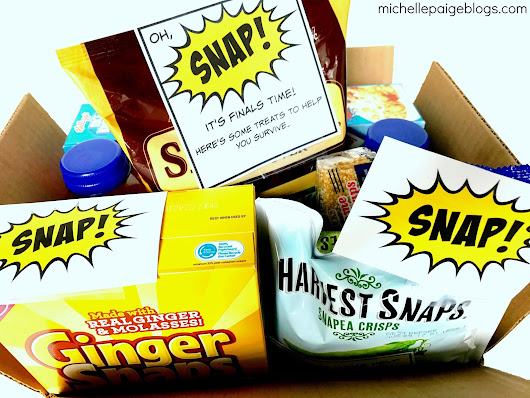 College Finals Care Package-- SNAP to it!
