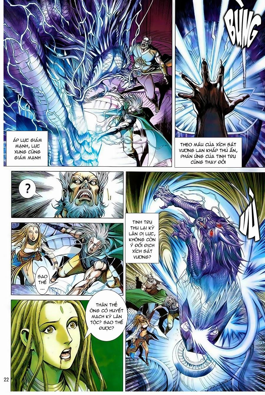 truyện tranh thiết tướng tung hoành Chapter 84/