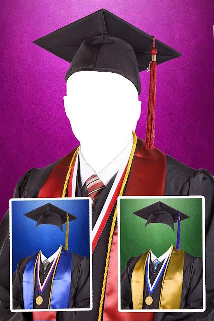 Plantillas para fotomontajes de graduación en png