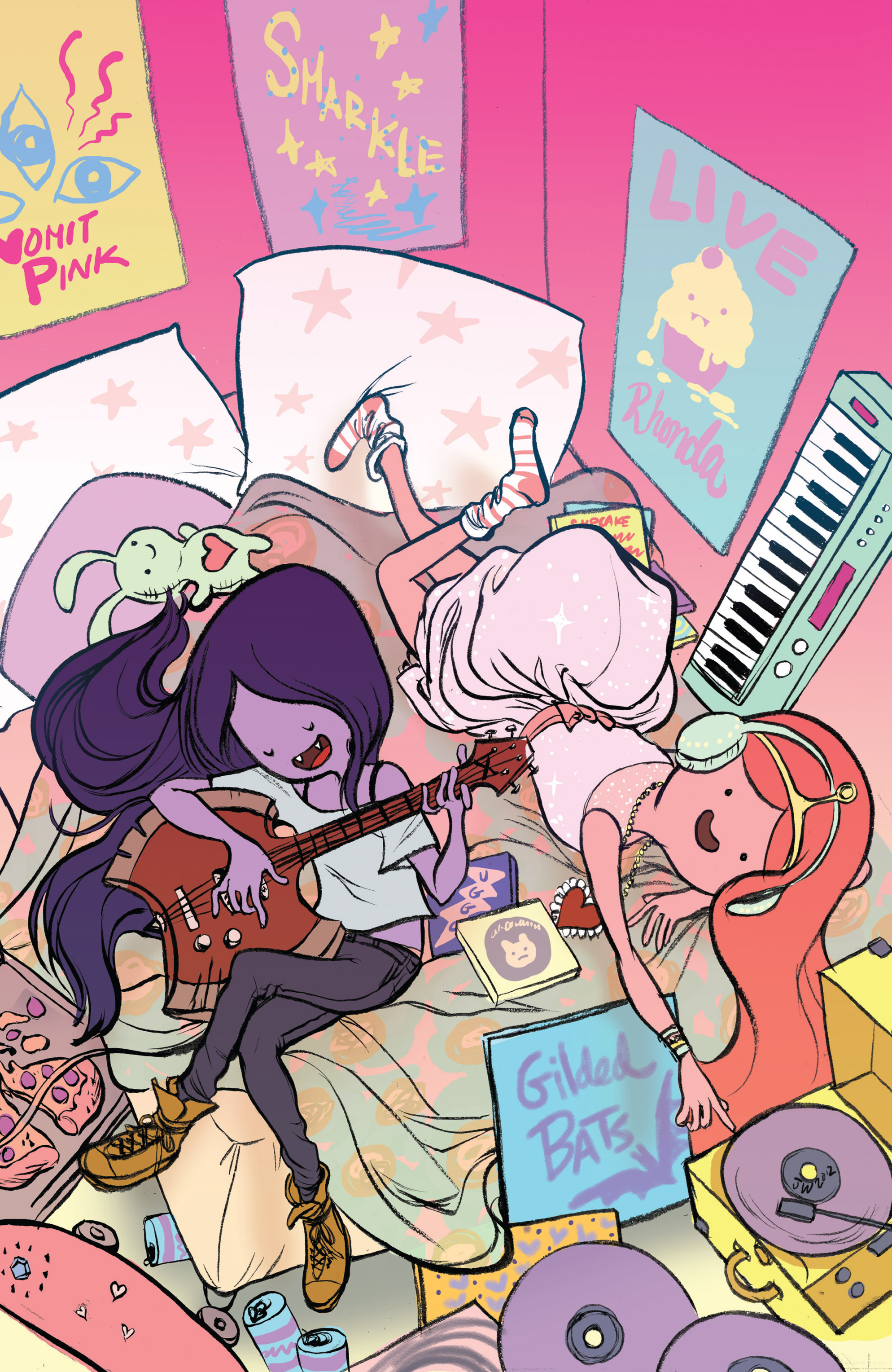 Read online Adventure Time: Marceline and the Scream Queens comic -  Issue #2 - 4