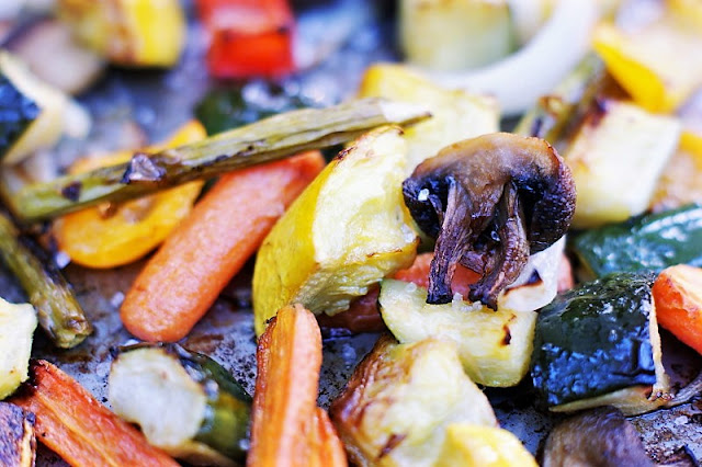 Easy Oven-Roasted Summer Vegetables Image