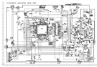 Skema TV SHARP schematic main board 14XMKII Mono (GA-4)