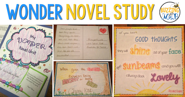 https://www.teacherspayteachers.com/Product/Wonder-Novel-Study-1351406