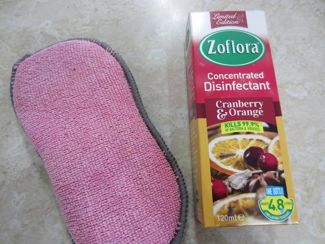 Scrub Buddy & Zoflora disinfectant