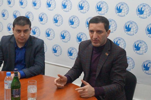 Հանդիպում ՀՀ ԱԺ պատգամավոր Գևորգ Պետրոսյանի հետ