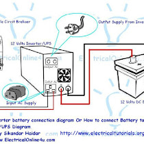 Ups wiring inverter wiring diagram for single room electrical inverter ups battery connection diagram today i am here to show you the ups battery connection diagram from w cheapraybanclubmaster Images
