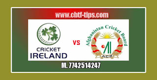 Match Prediction Tips by Experts IRE vs AFG 2nd T20